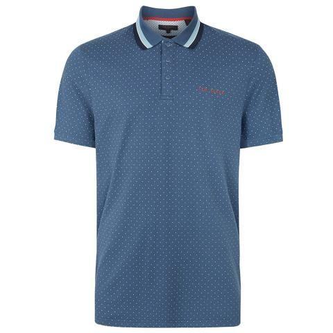 Ted Baker Kabby Polo Shirt Dark Blue