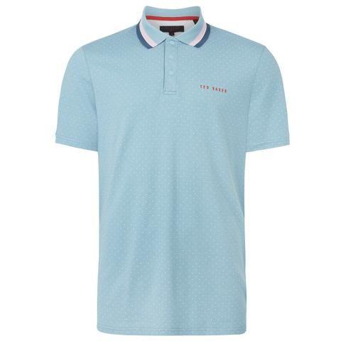 Ted Baker Kabby Polo Shirt Light Blue