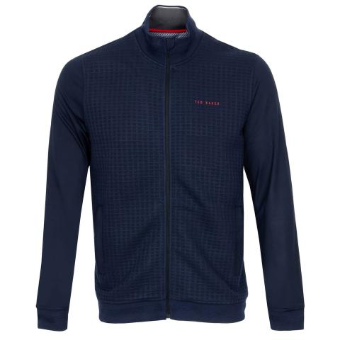 Ted Baker Goodput Full Zip Jacket Navy