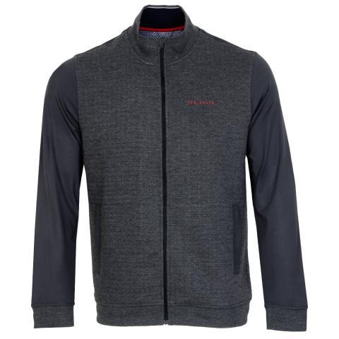 Ted Baker Goodput Full Zip Jacket Charcoal