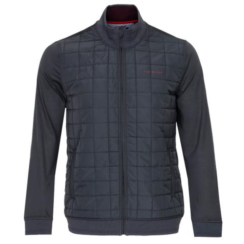Ted Baker Trolley Full Zip Padded Jacket Grey