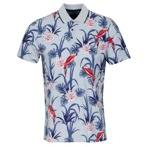 Ted Baker Plunk Graphic Polo Shirt