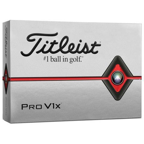 Titleist Pro V1X Golf Balls White / Dozen