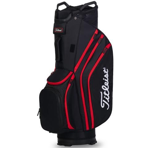 Titleist 2020 Cart 14 Lightweight Golf Cart Bag Black/Red
