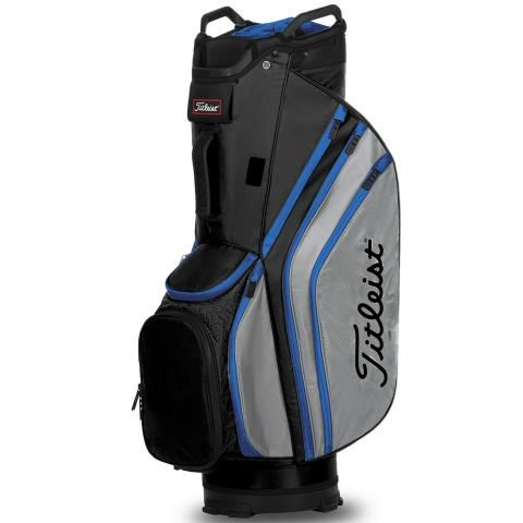 Titleist 2020 Cart 14 Lightweight Golf Cart Bag Black/Grey/Blue