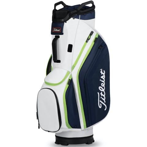 Titleist 2020 Cart 14 Lightweight Golf Cart Bag White/Navy/Apple