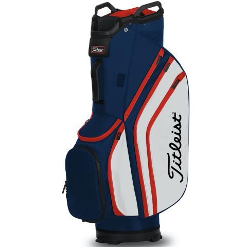 Titleist 2020 Cart 14 Lightweight Golf Cart Bag Navy/White/Red