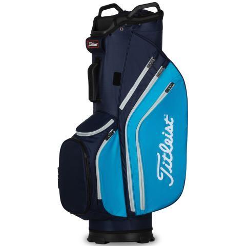 Titleist Cart 14 Lightweight Golf Cart Bag Navy/Dorado/Grey