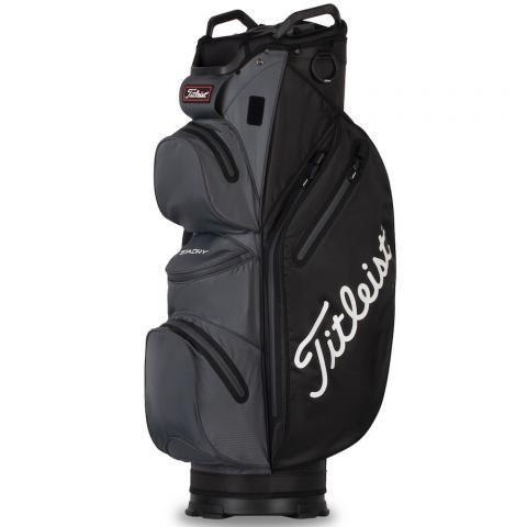 Titleist 2021 Cart 14 StaDry Waterproof Golf Cart Bag Black/Charcoal