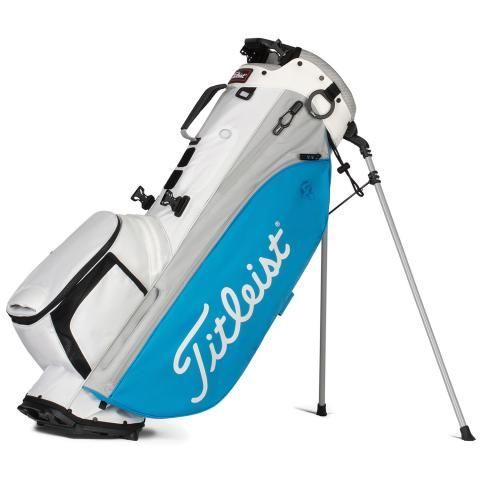 Titleist Players 4 Plus Golf Stand Bag White/Dorado/Grey