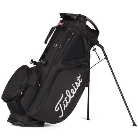 Titleist Hybrid 14 StaDry Waterproof Golf Stand Bag Black