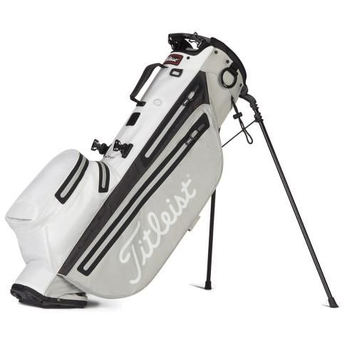 Titleist Players 4 StaDry Waterproof Golf Stand Bag Grey/White/Black