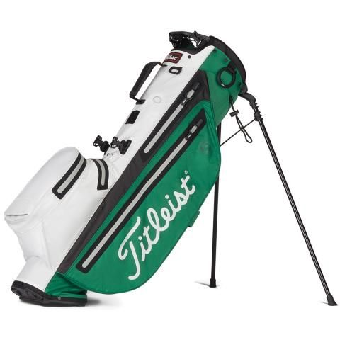Titleist Players 4 StaDry Waterproof Golf Stand Bag Green/White/Grey