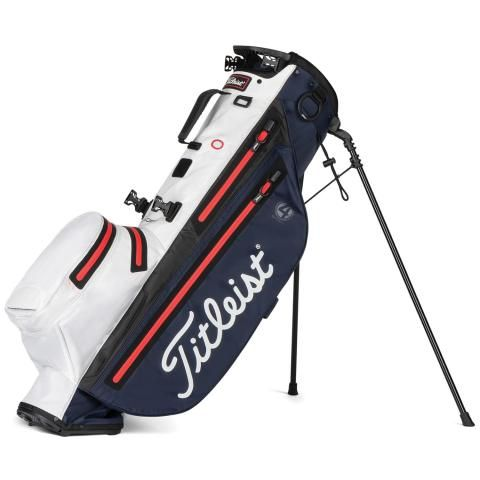 Titleist Players 4 StaDry Waterproof Golf Stand Bag Navy/White/Red