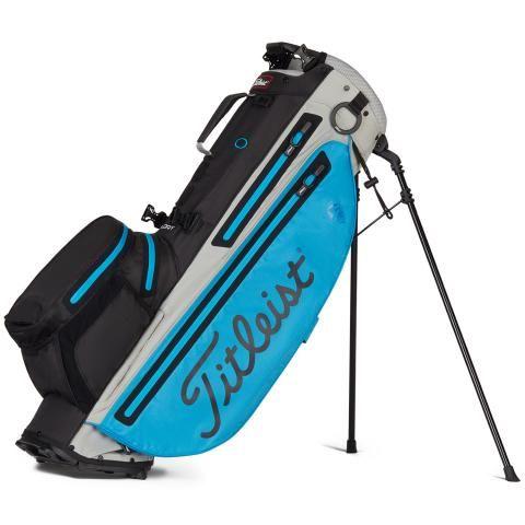 Titleist Players 4 Plus StaDry Waterproof Golf Stand Bag Dorado/Black/Grey