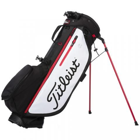 Titleist 2020 Players 4 Plus Golf Stand Bag Black/White/Red