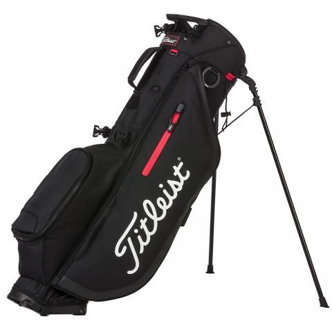 Titleist 2020 Players 4 Golf Stand Bag Black/Red