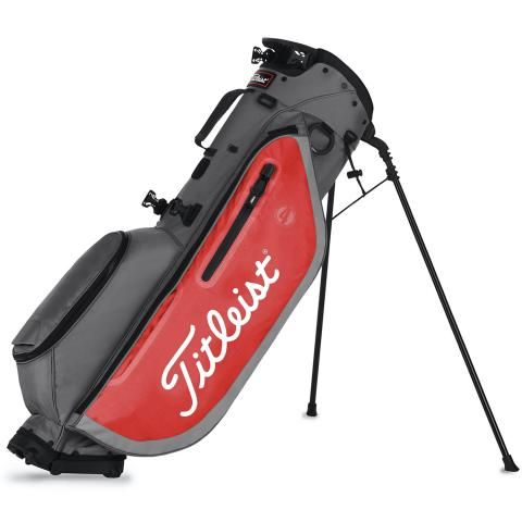 Titleist 2020 Players 4 Golf Stand Bag Graphite/Red
