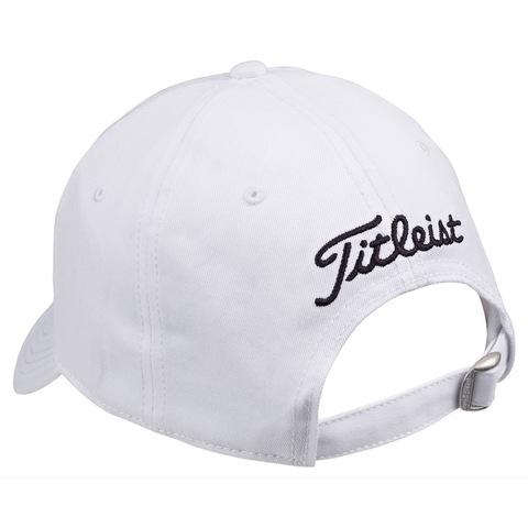 d0e000d91c3 Titleist Ball Marker Adjustable Golf Cap White Black