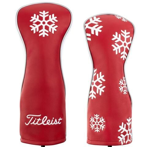 Titleist Limited Edition Leather Headcover Set Holiday - Driver & Fairway
