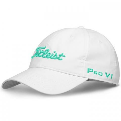 Titleist Ladies Tour Performance Adjustable Golf Cap White/Spearmint