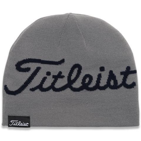 Titleist Lifestyle Reversible Winter Beanie Hat Grey/Navy