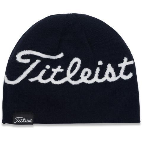 Titleist Lifestyle Reversible Winter Beanie Hat Navy/White