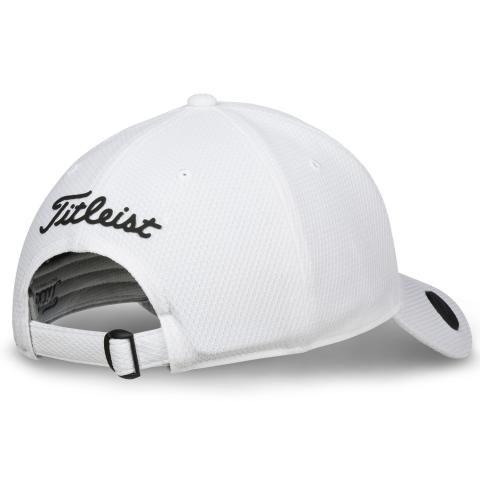 Titleist 2018 Performance Ball Marker Adjustable Golf Cap White ... 35b4a13e1f3