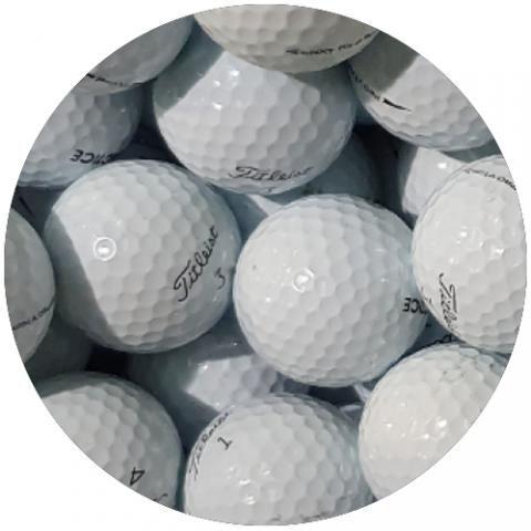 Titleist Pro V1 Practice Golf Balls White / Dozen