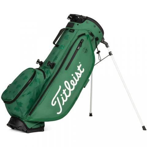 Titleist St. Patrick Players 4 Golf Stand Bag Green/White