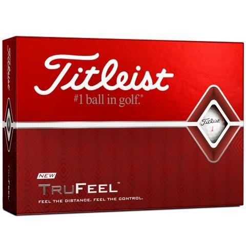 Titleist TruFeel Golf Balls White / Dozen