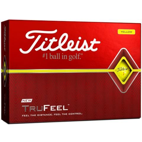 Titleist TruFeel Golf Balls Yellow / Dozen
