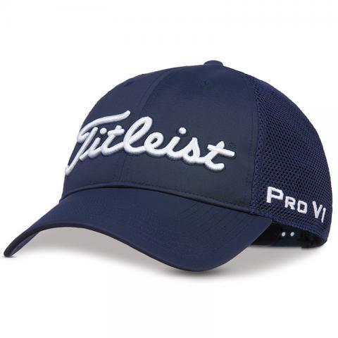 Titleist Tour Performance Mesh Adjustable Golf Cap Navy/White
