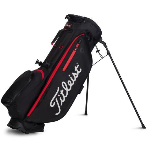 Titleist 2020 Players 4 Plus Golf Stand Bag Black/Red