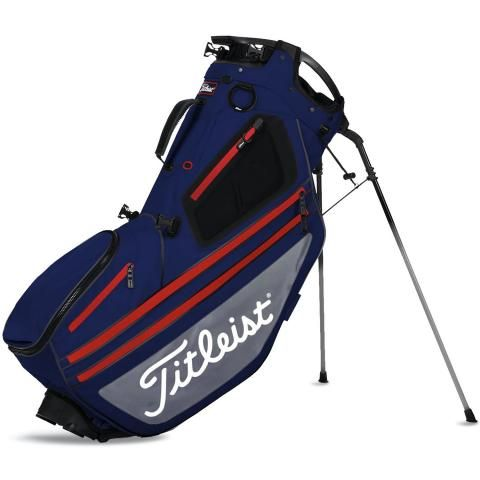 Titleist 2020 Hybrid 14 Golf Stand Bag Navy/Grey/Red
