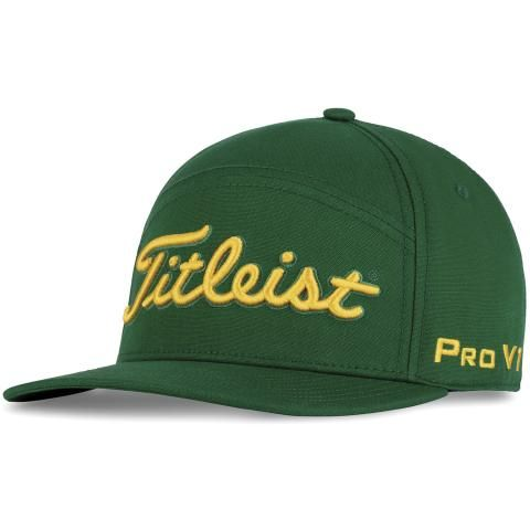 Titleist Split Panel Adjustable Golf Cap Hunter/Gold