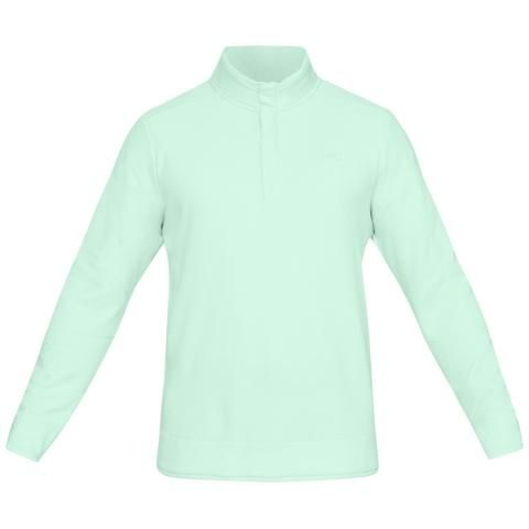 Under Armour Storm Snap Mock Sweater Fleece Aqua Foam