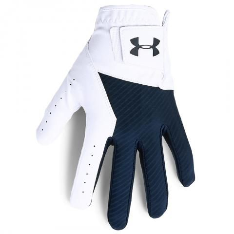 Under Armour Medal Golf Glove Right Handed Golfer / Academy/White