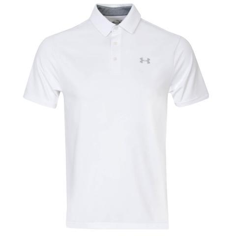 Under Armour Playoff 2.0 Polo Shirt White/Mod Grey