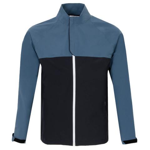Under Armour Storm Waterproof Golf Jacket Black/Mechanic Blue