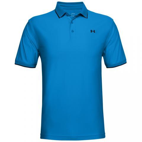 Under Armour Playoff Pique Polo Shirt Electric Blue