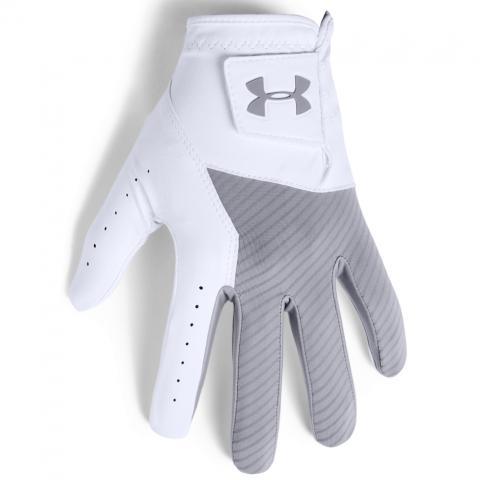 Under Armour Medal Golf Glove Right or Left Handed Golfer / Steel Grey