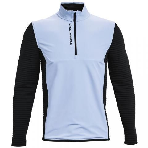 Under Armour Storm Evolution 1/2 Zip Golf Sweater Isotope Blue