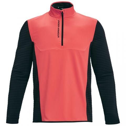 Under Armour Storm Evolution 1/2 Zip Golf Sweater Venom Red