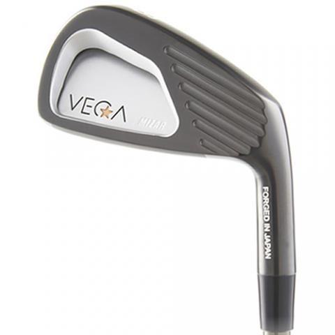 VEGA Mizar Golf Black Satin Irons Steel Mens / Right Handed