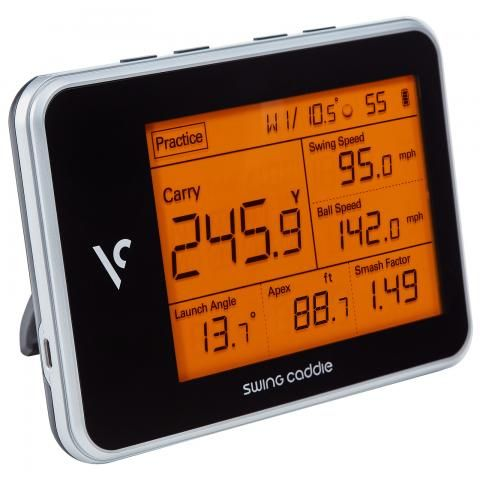 Voice Caddie SC300 Swing Caddie Launch Golf Monitor Portable / Instant Feedback On Your Swing