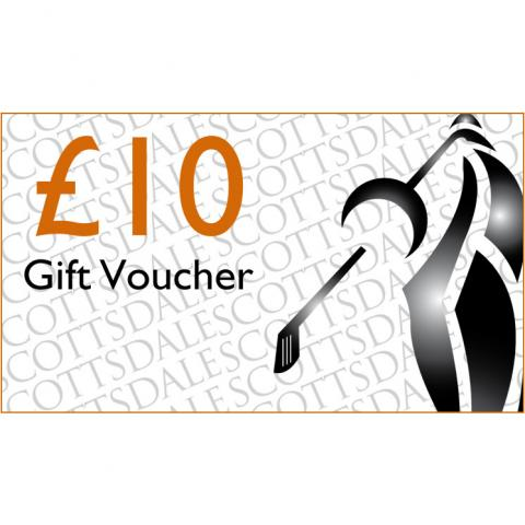 Scottsdale Golf £10.00 Gift Voucher Receive by Email