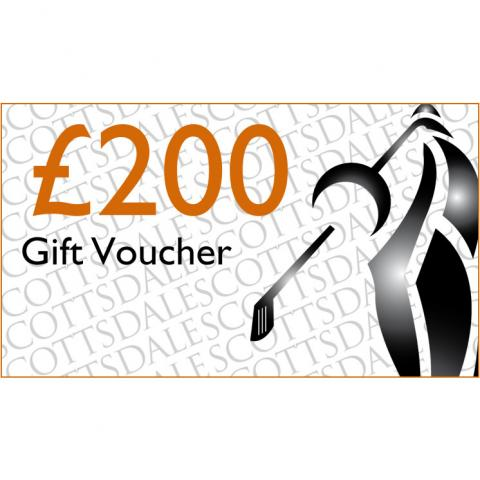 Scottsdale Golf £200.00 Gift Voucher Receive by Email
