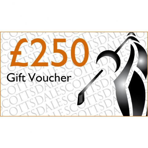 Scottsdale Golf £250.00 Gift Voucher Receive by Email