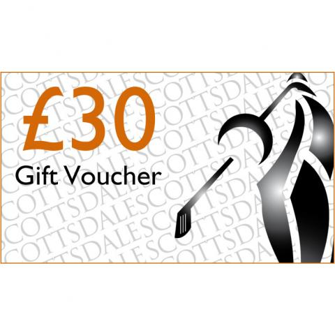 Scottsdale Golf £30.00 Gift Voucher Receive by Email